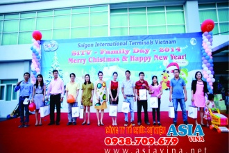 Saigon interational terminals vietnam Family days 2014
